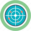 detector, microwave radar, monitor, radar, radiolocation icon