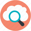 online search, cloud magnifying, cloud search, search concept, internet exploring