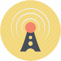 internet, tower signals, wifi internet, wifi signal, wifi tower icon