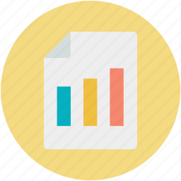 analysis, analytics, bar graph, business chart, business report icon
