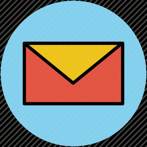 email, envelope, letter, letter envelope, mail, message icon