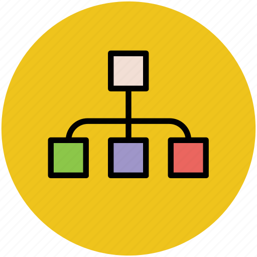 computer hierarchy, computing sharing, hierarchical structure, network, server sharing icon