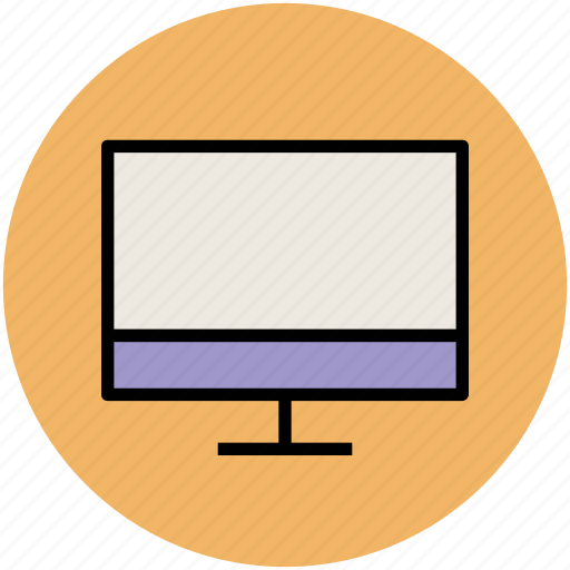 computer monitor, display, electronics, lcd, led, monitor, monitor screen, tv icon