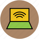 internet connection, laptop, wifi, wifi connection, wifi connectivity icon