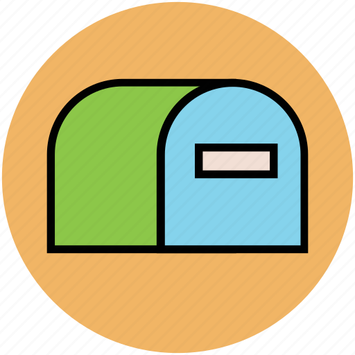 letter box, letter hole, letterbox, mail slot, mailbox, post box, post cabin icon