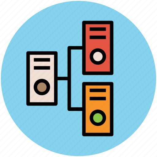 data sharing, network sharing, networking, server, server sharing icon