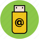 internet usb, pen drive, usb, usb adapter, wireless adapter icon