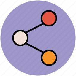 connect, connection, network, share, sharing icon