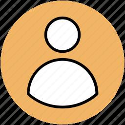 person, profile, profile avatar, user, user avatar icon