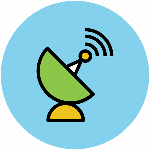 antenna, dish, dish antenna, radar, satellite, signals icon