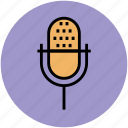 audio, electronics, loud, mic, microphone, radio mic icon