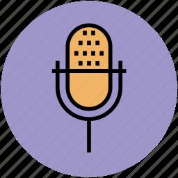 audio, electronics, loud, mic, microphone, radio mic icon