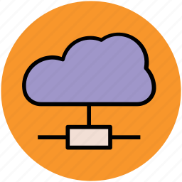 cloud, cloud network, icloud, network, sharing icon