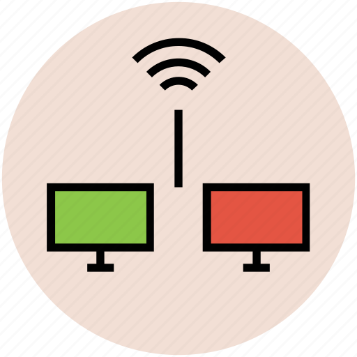 internet connection, internet signals, lcd, wifi connection, wifi signals, wireless internet icon