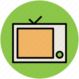 retro tv, telecasting, television, tv, tv box, tv set icon