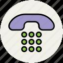 keypad, landline, landline keypad, phone, phone keypad icon