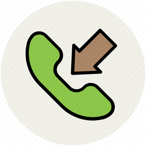 call, call receive, communication, incoming call, phone icon
