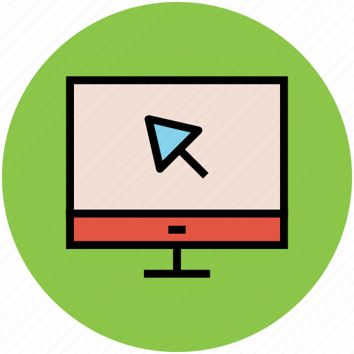 computer monitor, display, electronics, lcd, led, monitor screen icon