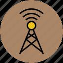 antenna, lte antenna, telecommunication tower, tower, transmitter, wifi antenna, wifi tower icon