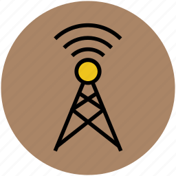 antenna, lte antenna, telecommunication tower, tower, transmitter, wifi antenna, wifi tower icon
