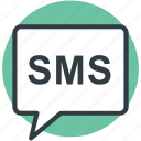 communication, modern communication, sms, sms bubble, talk icon
