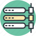 computing, multiprocessor, server, server hosting, server network icon