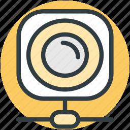 computer accessory, computer equipment, network, video cam, webcam icon