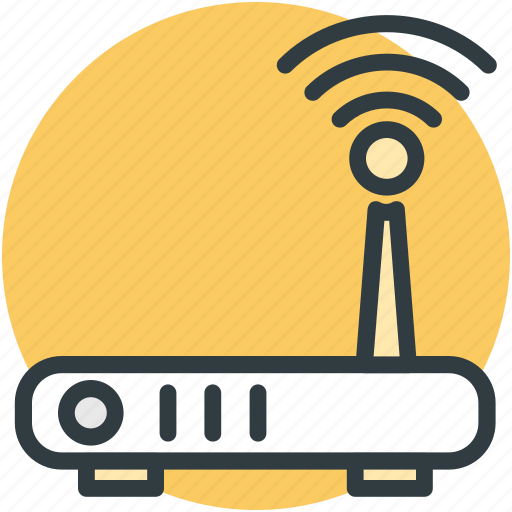 router, wifi, wifi modem, wireless fidelity, wlan icon
