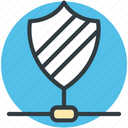 cyberspace firewall, information password, network shield, privacy concept, shield antivirus icon