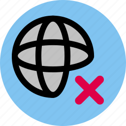 connection, disconnection, internet, network icon