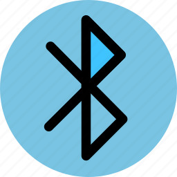bluetooth, connection, data, network icon