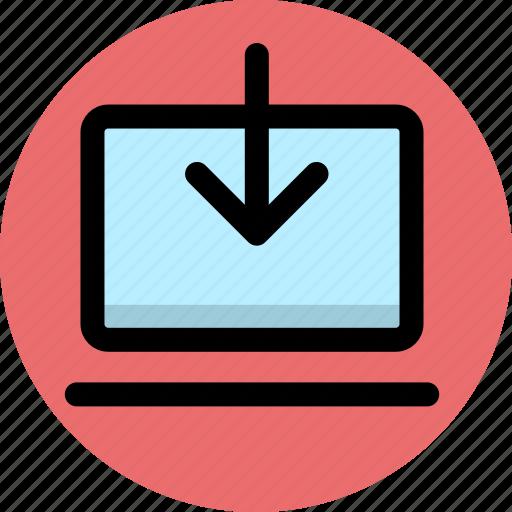 download, internet, network icon