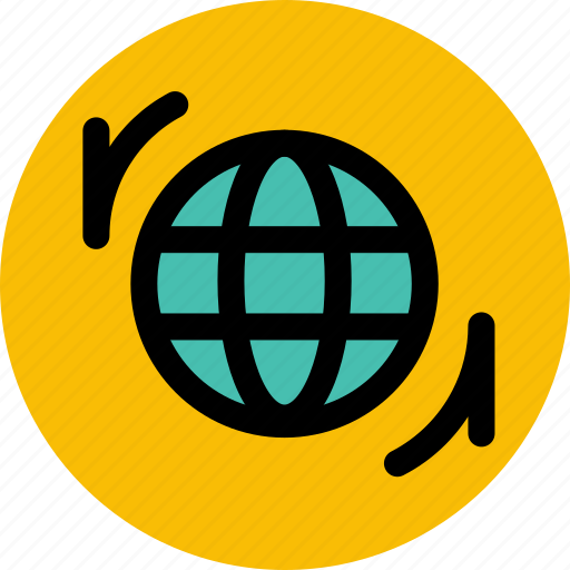 connection, internet, network, update, upgrade, web icon