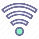 internet, network, wifi, wireless, wlan icon