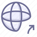 internet, network, website icon