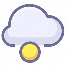 cloud, connection, datas, loading icon