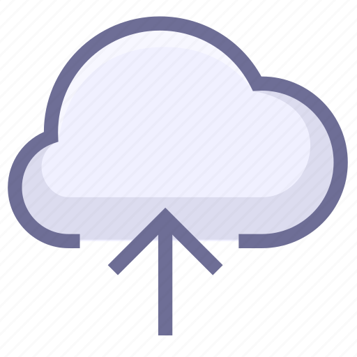 cloud storage, space, upload to cloud icon
