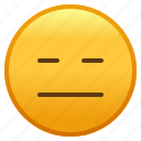 emoji, emotion, expressionless, face, smiley