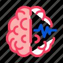 brain, impulse, medicine, neurology icon