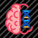 brain, medicine, molecule, neurology icon