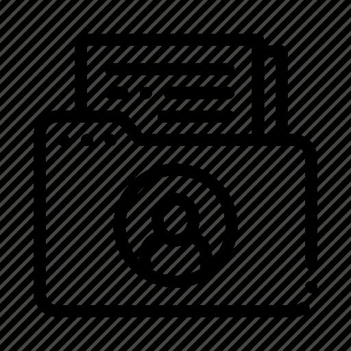 files, folder, medicine, neurology icon