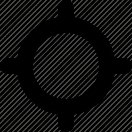 bullseye, crosshairs, location, marker, navigation, target icon