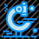 examination, microscope, research icon