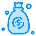 bag, dollar, money icon