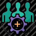 health, hospital, peoples, public health, public health development icon