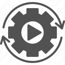 auto, automation, autonomous icon