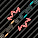 chain, desupply, recalibrate, supply
