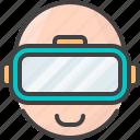 glasses, reality, virtual, vr
