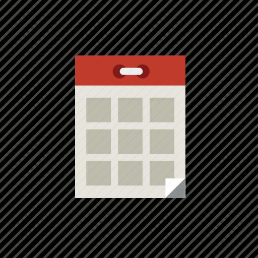 calendar, date, event, retro, time icon