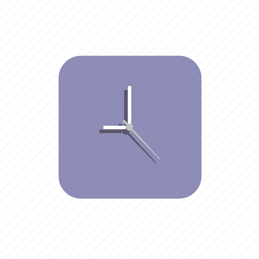 clock, event, hour, purple, time icon